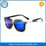 Fashion black maple wooded frame temples sunglasses tac polarized lens