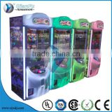 2016 new kids coin operated crazy toys crane claw toy vending machine prize machine for shopping mall