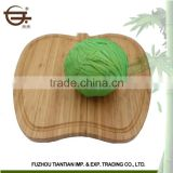 New Products High quality kitchen fruit shape eco friendly chopping board