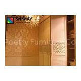 E1 Grade MDF Board Furniture White Sliding Door Wardrobes for Living Room