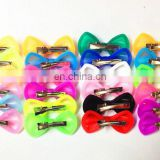 wholesale soft silicone bow hairpin/hair rope