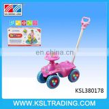 Hot sale plastic pusher walker baby with music and light
