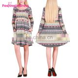 Beautiful Fashion Long Sleeve White Ugly Christmas Party Dress