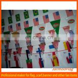 custom world cup advertising bunting flag