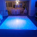 High gloss white and black colorful led dance floor