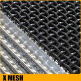 iron crimped wire mesh with edges manufacturer lower price