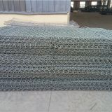 Hexagonal Galvanized Gabion basket for soil erosion protection