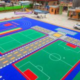 Splicing floor manufacturer special elastic floor for basketball court special wear-resistant floor mat for playground
