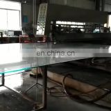 Tempered polish edge safety corner customized size glass top