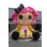 Favorable inflatable advertising girl characters in sell