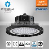Aluminum no reflector I-Sun induction 26000lm ul cul dlc tuv gs listed 200w led high bay light