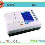 Model:3306G 6 channel portable ecg machine