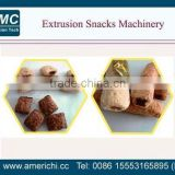 China co extrusion snacks machine