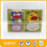 2015 Most Popular MDF Material Educational Puzzle Good Quality Puzzle Gift Kids Puzzle Toys
