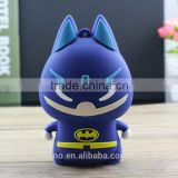 Heros batman power bank 5200mah power bank with cable