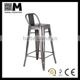 Mooka bar stool Xavier Pauchard Marais wide back steel stool industrial bar furniture for sale