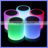 Touch Wireless Bluetooth Reading Sleeping Speaker with Smart Lamp Coloful LED Light Hook