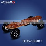 Hight quality soild military tire hoverboard electric skateboard bluetooth with remote control