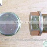 znic stainless steel hex flange nuts