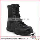 2014 New Quality Leather Black Army Boots/Men Tactical Boots Personal Protective Equipment