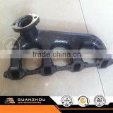 Hebei Guanzhou casting foundry made high quality cast iron automobile exhaust manifold for Mitsubishi