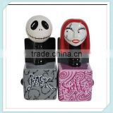 Nightmare Before Christmas Jack and Sally In the Box Salt and Pepper Shakers                                                                         Quality Choice