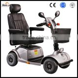 four wheels battery operated disabled vehicle electric scooter