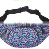 Best selling waterproof cheap polyester walk bags large capacity sport waist bag