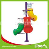 Fun Play Three Hoops Plastic Children Basketball Stand LE.LQ.002