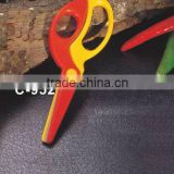 S/S+ABS 13.8*4.7*0.8 Practical manual scissors/safety scissors/children's scissors/professional scissors/kids scissors