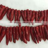 Natural Seaweed Red Coral Rough Nugget Gemstone Semi Precious Stone Red Coral Hotsales