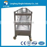electric swing stage cradle / construction suspended scaffolding / construction building lifting gondola