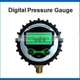 3V battery supply 0-750Psi Digital tire pressure gauge for tire inflation with LCD display