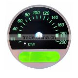 3D Tinted Window Auto Instrument Cluster