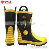 Fire proof safety protective shoes boots with steel toe cap and midsole