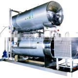 automatic stainless steel high pressure water spary retort for canning Retort sterilizer for canned food pouches