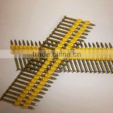 Screw Shank Plastic Strip Nail