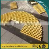 Guangzhou Factory Free Sample FRP Plastic Grating Fiberglass/Platform walkway frp grating                                                                         Quality Choice