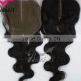 New baby products 2013 silk base top closure french lace silk base closures