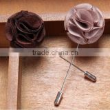 Fashion elegant lovely handmade flower orchid brooches