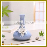 colorful home accessories on glazed ceramic vase for furnituring decoration