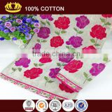 100-Percent Ring Spun Cotton face Towels flower jacquard face towel                                                                         Quality Choice