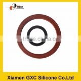 Silicone waterproof rubber felt ring seal