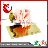 Wholesales glossy fashion metal mirror business card                                                                                                         Supplier's Choice