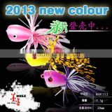 2013 new color hard frog fishing lure fishing frogs