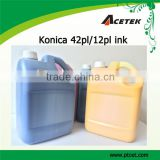 konica 14pl/42pl solvent ink for Allwin printing machine
