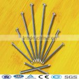bright polished smooth shank common nails