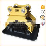 Factory supplied high quality concrete hydraulic vibrating plate compactor for excavator