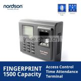 CE/ROSH Passed Portable Anti-passback Fingerprint Time Attendance with Electric Time Clock