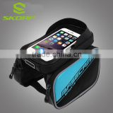 Tube Pannier Double Pouch Bicycle Frame Bag Bicycle Phone Case Bike Bag